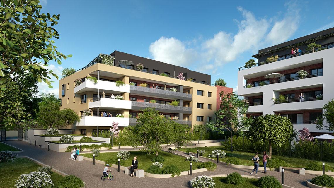 Jardins du Square résidence Belfort