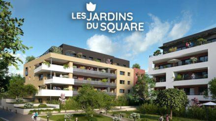 Commercialisation 2eme tranche des Jardins du Square Belfort